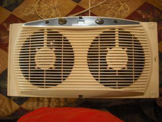 Holmes Dual Window Fan Intake and Exhaust