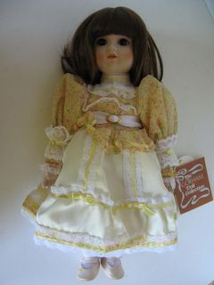 Authentic Gorham EMILY Musical Porcelain Doll Mint original box tags