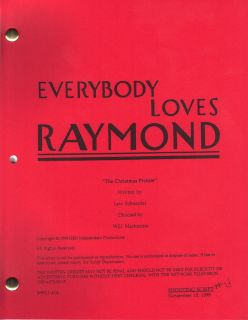 Everybody Loves Raymond Script The Christmas Picture