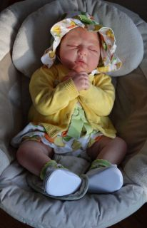 Reborn Baby Girl Fay Danielle Zweers Snuggle Love Nursery