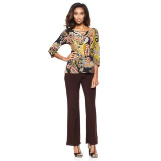 208 172 antthony design originals gabrielle 2 piece knit top and pants