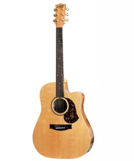 Maton EST65C Acoustic / Electric Guitar with Free Maton Case