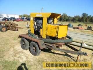 Diesel Irrigation Pump Low Hours