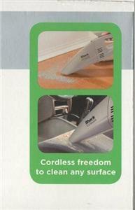 New Euro Pro Shark 7.2 Volts Cordless Hand Vac Vacuum SV772NN