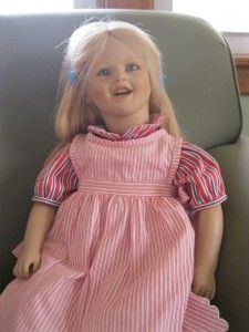Annette Himstedt Doll Lisa 26 Barefoot Children Series 1987