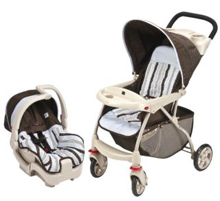 New Evenflo Infant Travel System Baby Carrier and Stroller 5 Point