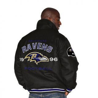 Baltimore Ravens NFL Wool Blend Varsity Jacket