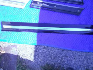 Cadillac DeVille Left Front Door Trim Molding Black 1997 1999