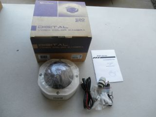 Everfocus EHD350 H 1 B 520 TVL High Resolution Color Vandal Dome