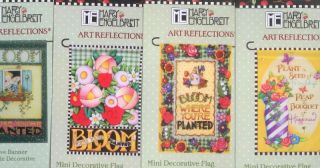 Mary Engelbreit Small 12 x 18 Garden Flag Assorted Summer Spring