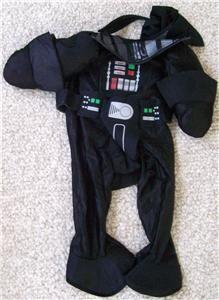 Star Wars Darth Vader Pet Halloween Costume Size Extra Large