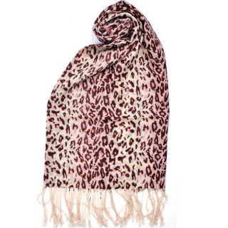 Hot Sale 100 Wool Scarf Shawl Wrap Leopard Print Fashion Womens Autumn