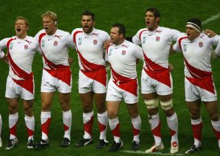 ENGLAND Nike VINTAGE Home 2007 IRB WORLD CUP Shirt RUGBY UNION Jersey