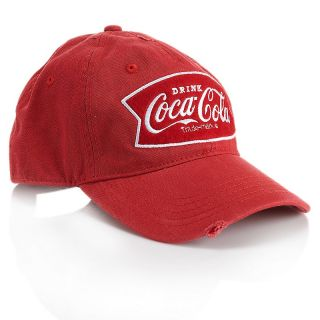 216 990 coca cola frayed adjustable twill baseball cap rating be the
