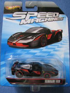 Ferrari FXX 1 64 Hot Wheels Speed Machines 2011 Diecast Mint W2318