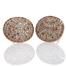 rarities carol brodie champagne diamond charm bracelet $ 239 90
