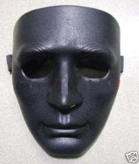 Two Military Protective Face Shape Mask Black Camouflage Colour Cool