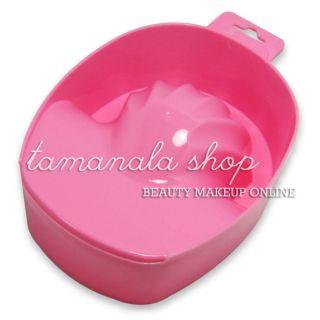 Art Hand Remove Manicure Treatment Wash Soaking Soak Bowl Pink