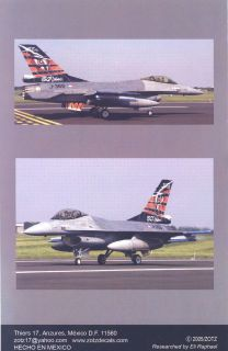 decal set f 16 dutch hornet company zotz stock number 48 022 scale