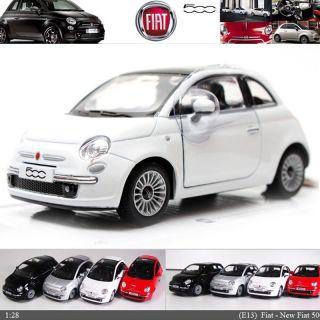 NEW Fiat 500 128 , 5 Color selection Diecast Mini Cars Toys Kinsmart