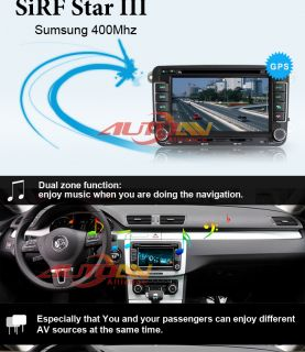 Car DVD Player Stereo GPS Navigation for Volkswagen Passat B5 B6 Radio