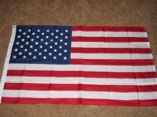 2x3 Nylon American Flag USA US Embroidered Sewn F295