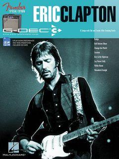 Eric Clapton Fender G Dec 3 Guitar Playalong Book Card