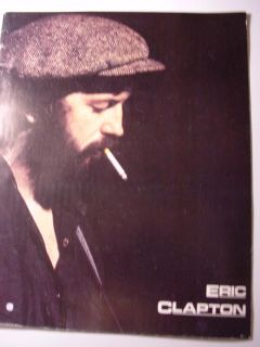 Eric Clapton Another Ticket Tour Program