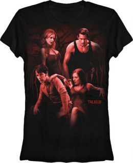 True Blood Vampire Junior Tshirt Eric Bill Pam Jessica