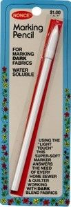 Water Soluble Nonce Marking Pencil White 147C Wht
