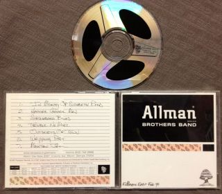 Allman Brothers Band Fillmore East Feb 70 OOP 1997 GDCD 4063