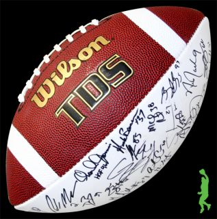 2012 San Diego Chargers Team Signed Auto Wilson Football Philip Rivers