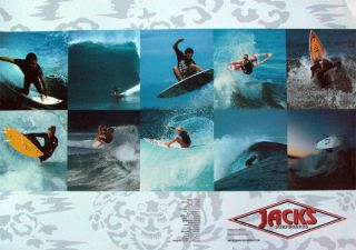 Jacks Surf Team Poster Jon Jon Florence Erica Hosseini