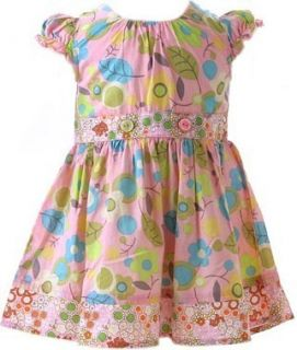 Baby Lulu Utopia Pink Floral Dress Choice of Size 2T 3T 4T 5 or 6
