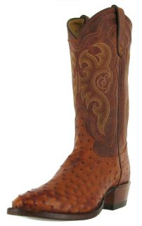 Tony Lama Mens 13 Exotic Ostrich Western Cowboy Riding Boots Style