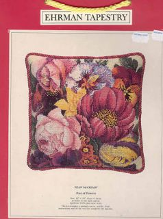 Erman Tapestry Needlepoint  Posy of Flowers Kit