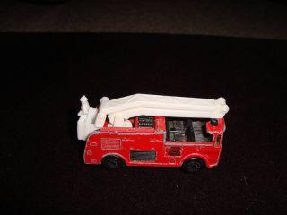 1981 Matchbox Snorkel Fire Truck
