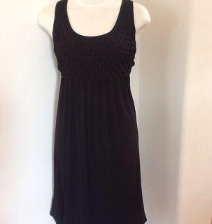 Sacks Fifth Avenue Little Black Super Stretch Slinky Dress Size 4