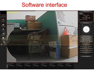 Indoor VGA Real Time Laptop DVR Night Vision IR Security Dome Camera