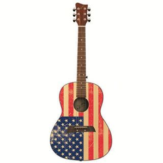 First Act 36 inch Designer Acoustic Guitar American Flag