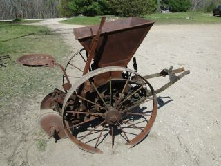 Vintage McCormick Deering Farm Machinery Horse Drawn Potato Planter