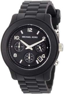 MICHAEL KORS / MK5291 CHRONOGRAPH   WOMENs   BLACK SILICONE RUBBER