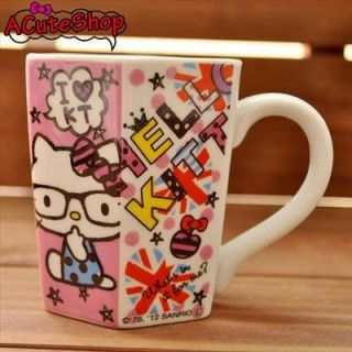 Take your first sip of coffee or tea with this adorable Hello Kitty