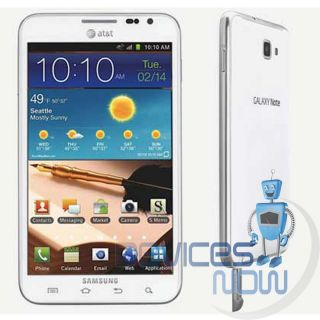 UNLOCKED  Samsung Galaxy Note LTE SGH I717   16GB  White by