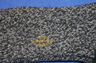 NWT Ralph Lauren Rugby Wool Blend Black Cream Green Ragg Socks