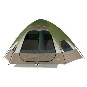 Wenzel Sleeps 4 5 Man Person Family Camping Dome Tent
