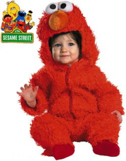 Sesame Street Baby Elmo Plush Costume Infant 12 18M
