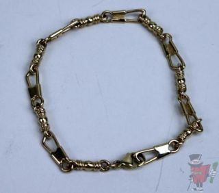 previously owned james avery fishers of men 14k gold bracelet 9 21g