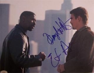 Training Day Signed Denzel Washington Ethan Hawke JSA