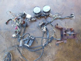 Honda CB750 CB 750 Wiring Harness Coil Horn Speedometer Bar Switch
